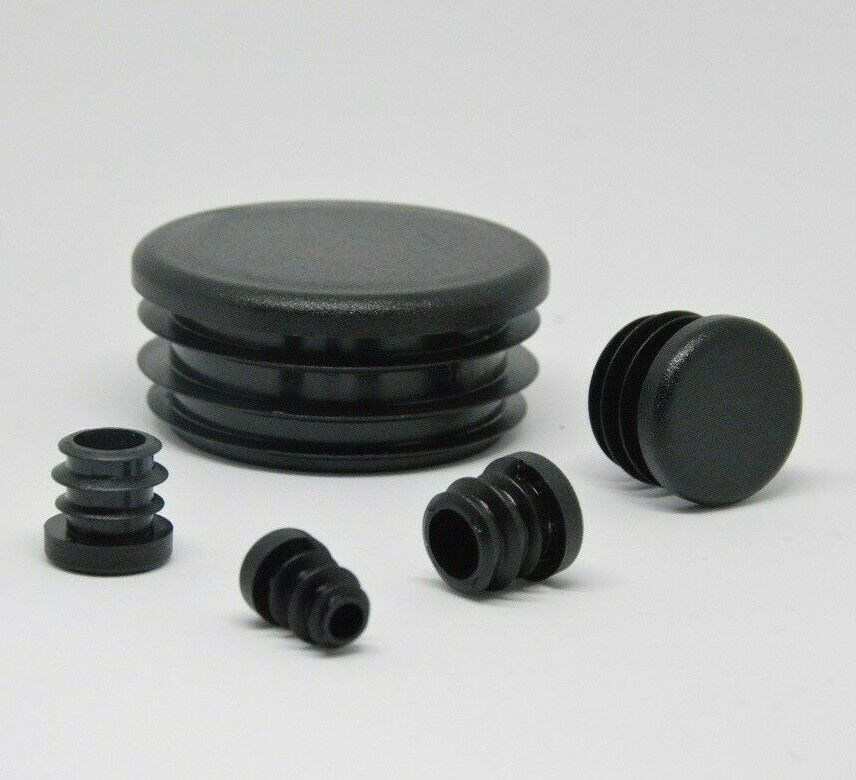 Round End Caps Plastic Blanking Plugs Bungs Pipetube