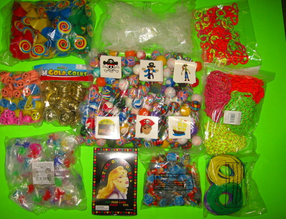 Bulk Prize Toys : Toys gross superballs gold coins pirate tattoos