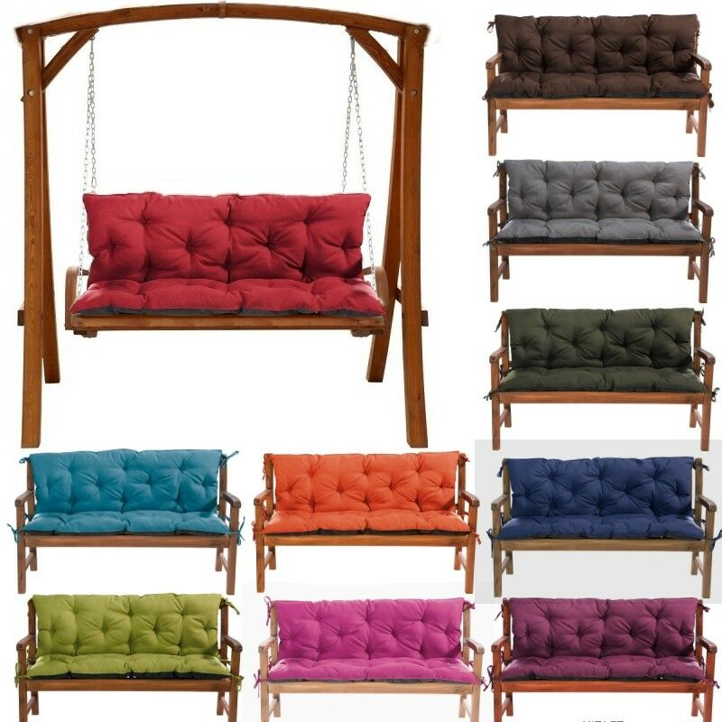 Replacement Cushions 1 4seater For Garden Swing Bench