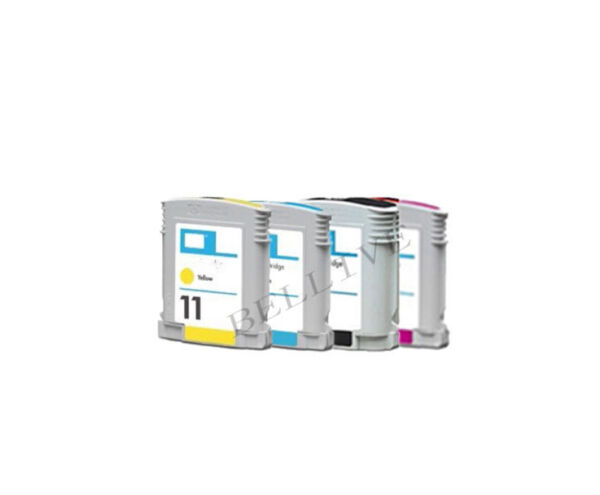 5 CARTUCCE PER HP10 HP11 Business InkJet 1200D, 1200DTN, 1200DTWN, 2800, 2800DT