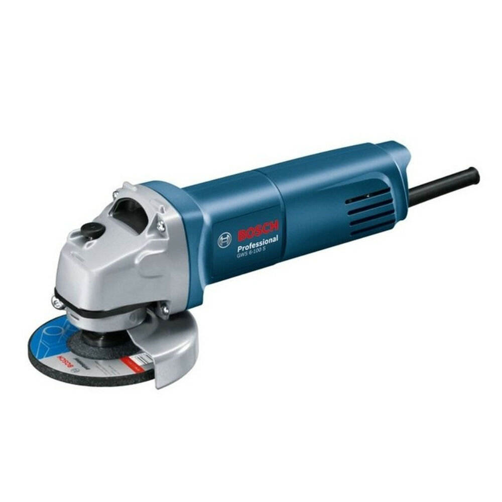 bosch gws 6 100s small angle grinder 710w 4inch 220 240v. Black Bedroom Furniture Sets. Home Design Ideas