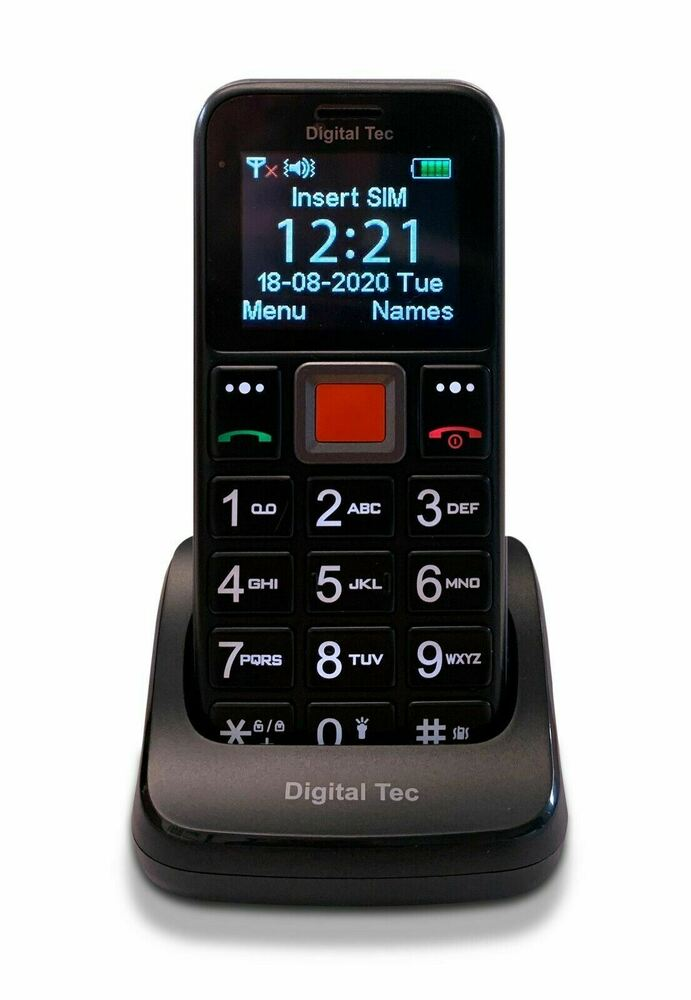 Phones For The Elderly: Big Button Easy To Use Senior Citizen Mobile Phone SOS