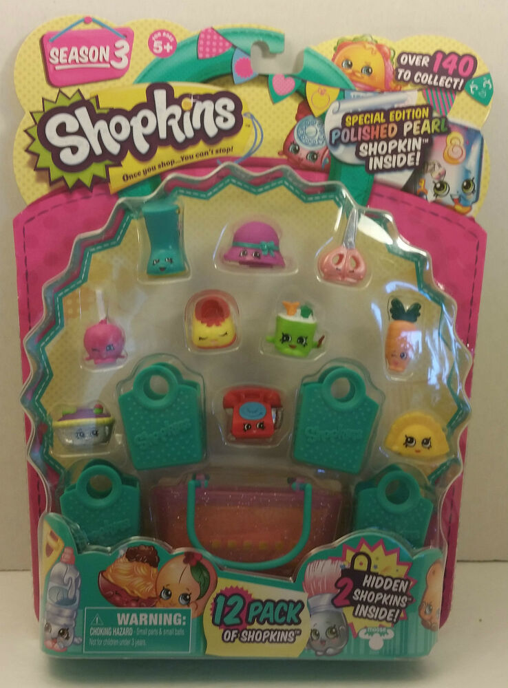 shopkins season 3 limited edition jewelry shopkins season 3 special edition polished pearl 12 pack 5625