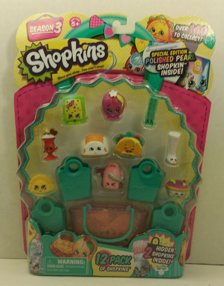 shopkins season 3 limited edition jewelry shopkins season 3 special edition polished pearl 12 pack 2302