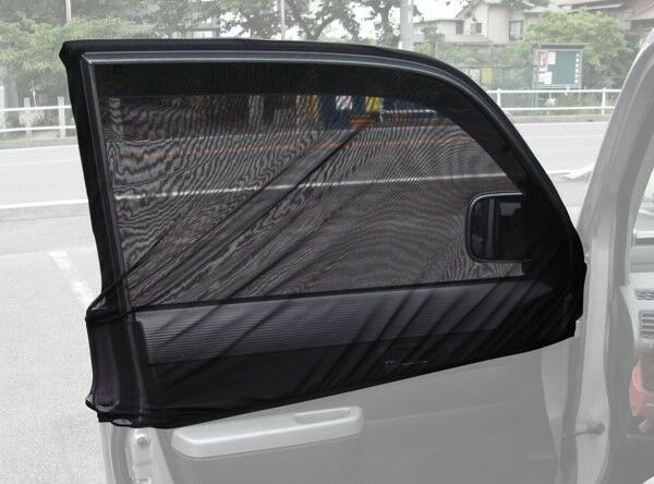 Auto Anti Window Mosquito Net Front Driver Passenger