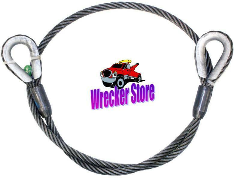 1  2 u0026quot  x 50 u0026 39  iwrc eips wire rope sling    cable for wrecker