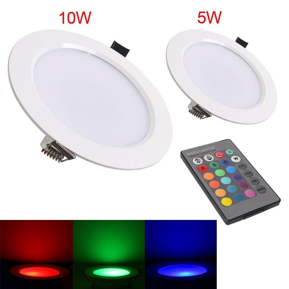 5w 10w Led Recessed Ceiling Light Spot Lamp Panel