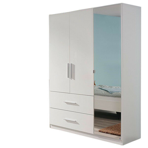 kleiderschrank hochglanz wei kinderzimmer jugendzimmer dreht renschrank schrank ebay. Black Bedroom Furniture Sets. Home Design Ideas