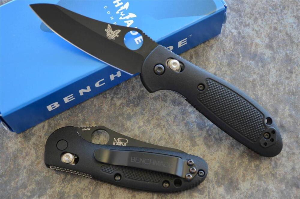 Benchmade 555bkhg Mini Griptilian Folding Axis Lock Knife