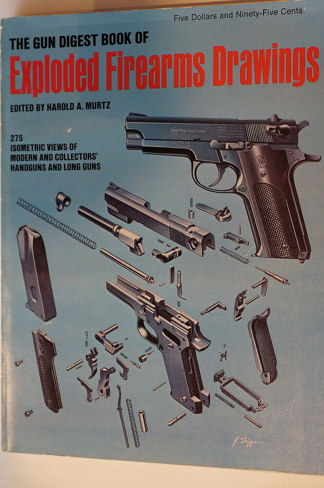 Collector U0026 39 S Gun Digest Exploded Firearms Drawings