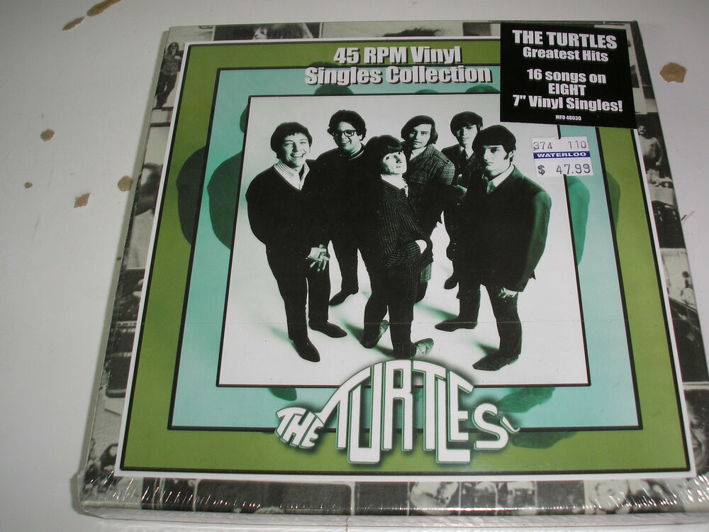 The Turtles 45 Rpm Vinyl Singles Collection 8 X 7 Quot Box