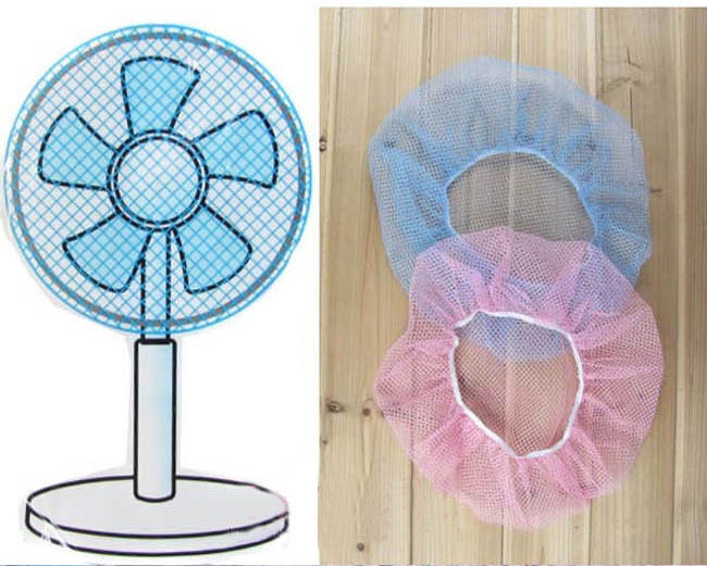 New Baby Finger Protector Safety Mesh Nets Cover Fan Guard