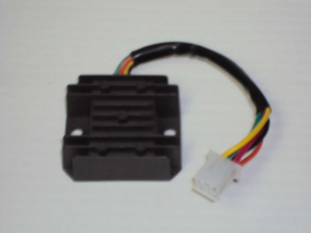 scooter voltage regulator 50cc 150cc gy6 qmb 5 wire pigtail ebay