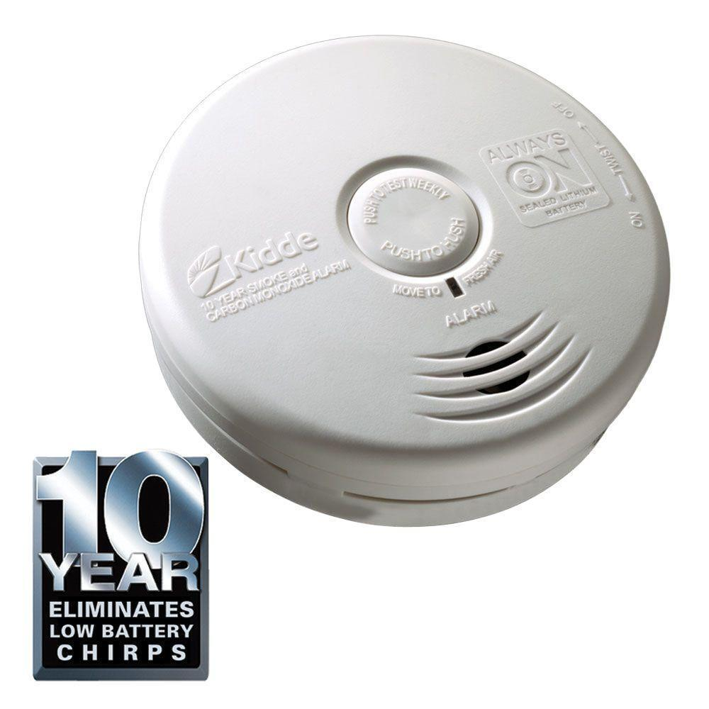 Kidde Smoke And Carbon Monoxide Alarm With 10 Year Sealed