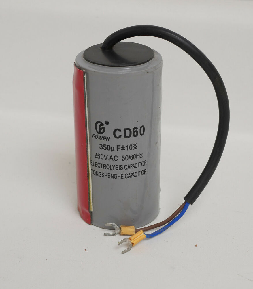 350uf mfd start capacitor 250volt motor round 50 60hz ebay for How to test a motor start capacitor