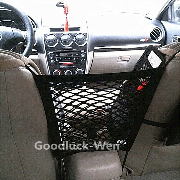 great car mesh cargo net storage seat bag truck luggage holder hanging organizer ebay. Black Bedroom Furniture Sets. Home Design Ideas