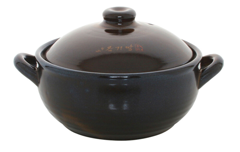 Korean Traditional Earthenware Hot Pot For Dolsot Bibimbap