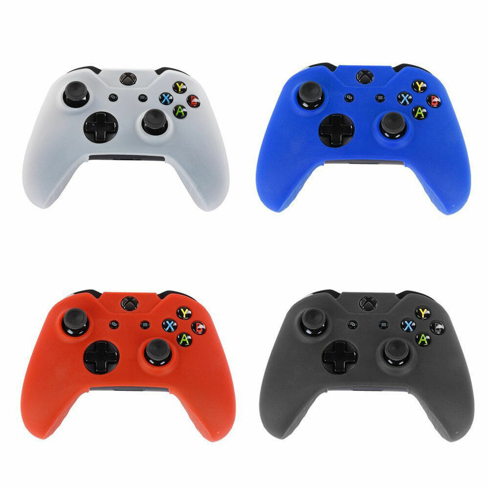 Color Protective Silicone Gel Skin Case Cover For Xbox One ...