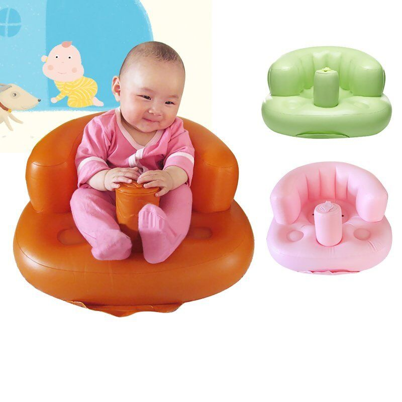 baby sofa inflatable kids children toddlers learn stool