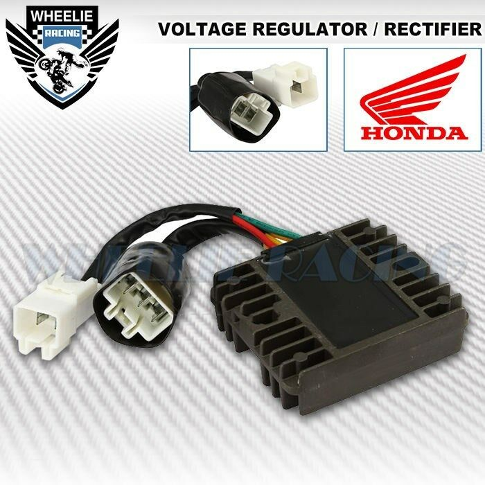 Rectifier Voltage Regulator Assy Honda 04