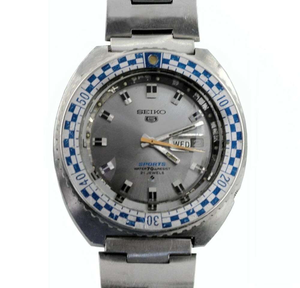 how to change date on seiko 6003