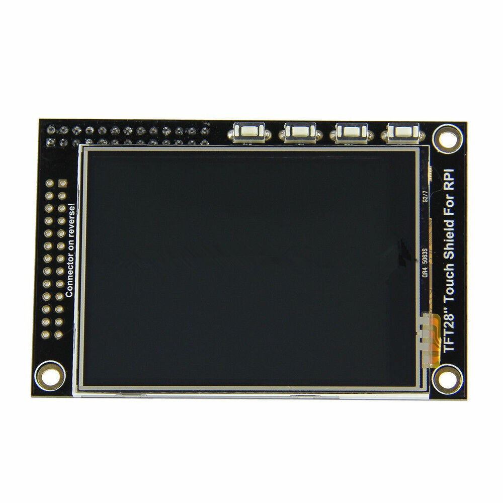 2 8 tft lcd rgb touch screen display monitor for raspberry pi pi2 board b b a ebay. Black Bedroom Furniture Sets. Home Design Ideas