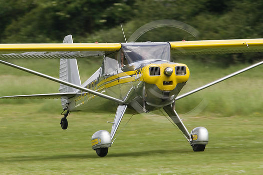 1 5 Scale Luscombe Silvaire Giant Scale Rc Airplane Rolled
