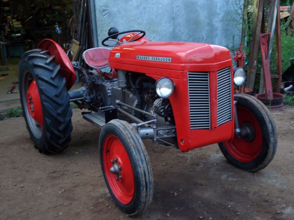 To30 Tractor Parts : Massey ferguson mf te tractor to service manual s