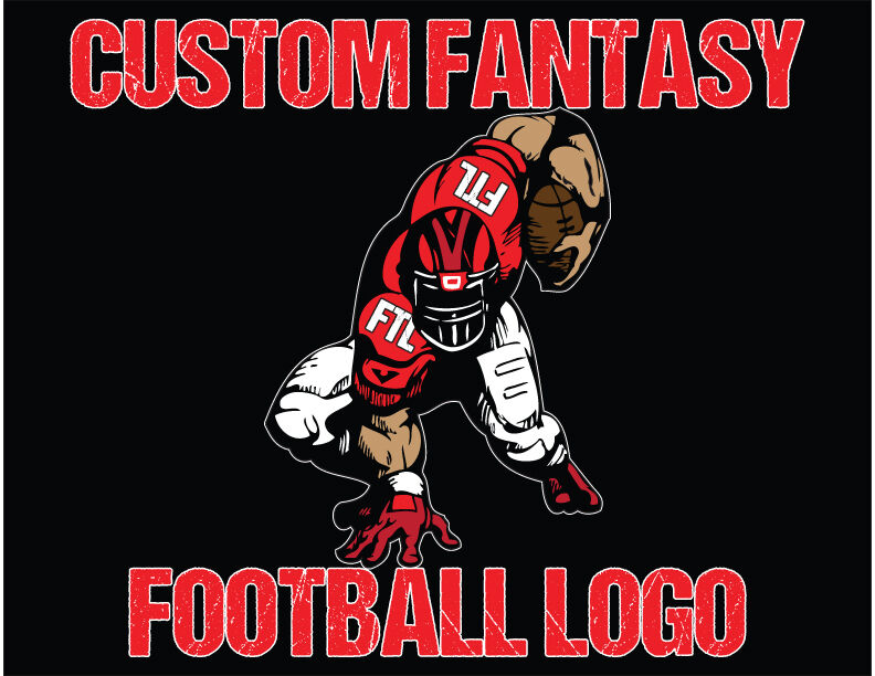 Fantasy Football Logo Design for your Team or League with ...