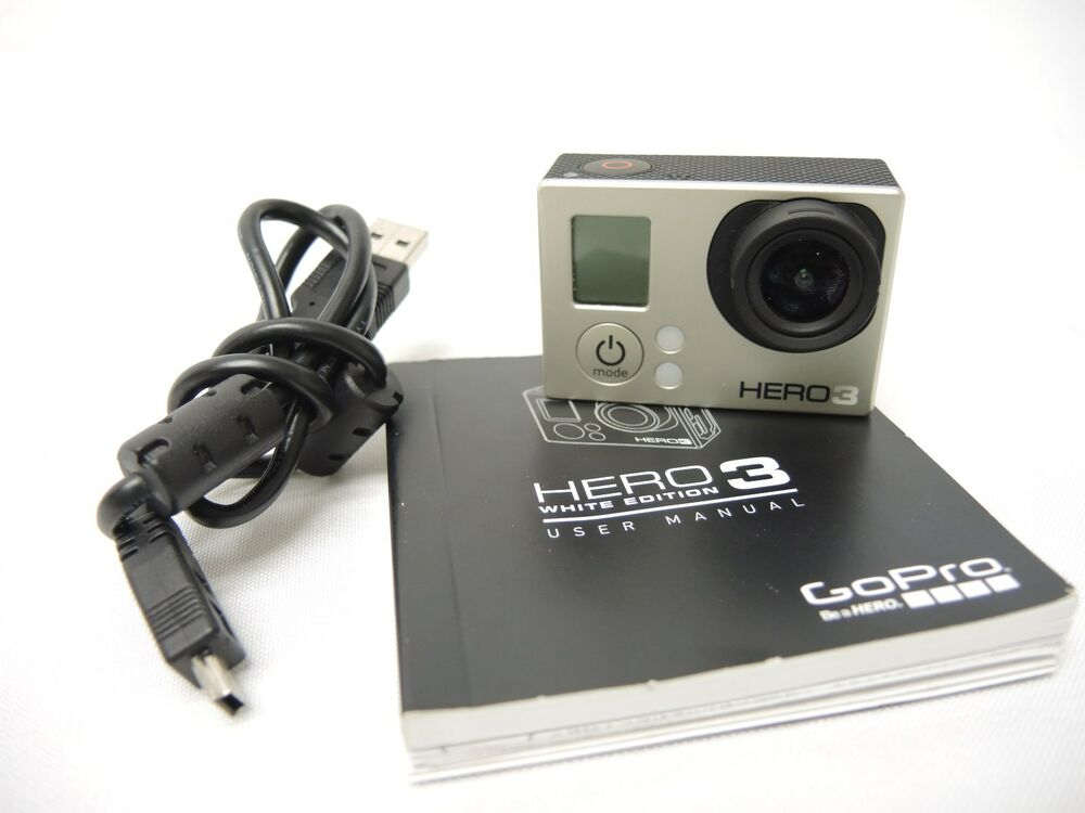gopro hero 3 white edition chdhe 301 20755 ebay. Black Bedroom Furniture Sets. Home Design Ideas