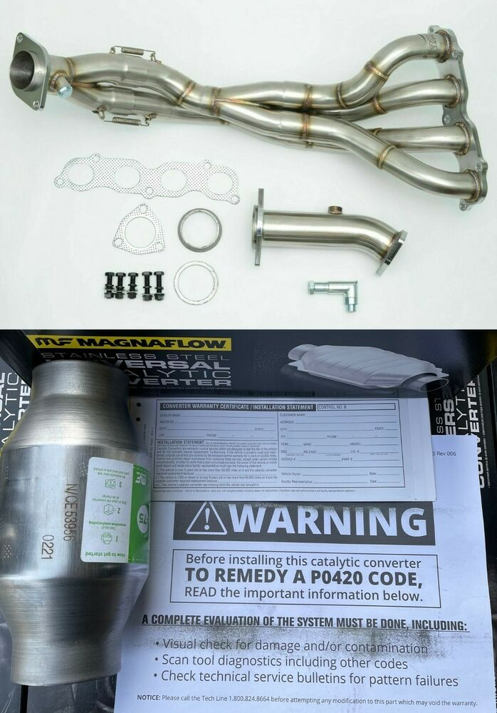 Acura Rsx Tri Y Race Header Dc5 K20a2 Type S Also Fit Ep3