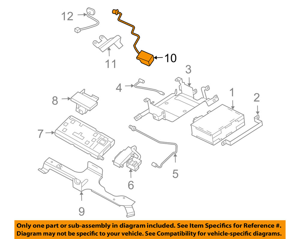 Gm Oem Antenna Assy 12450669 Ebay Saturn L200 Power Seat Wiring Diagram