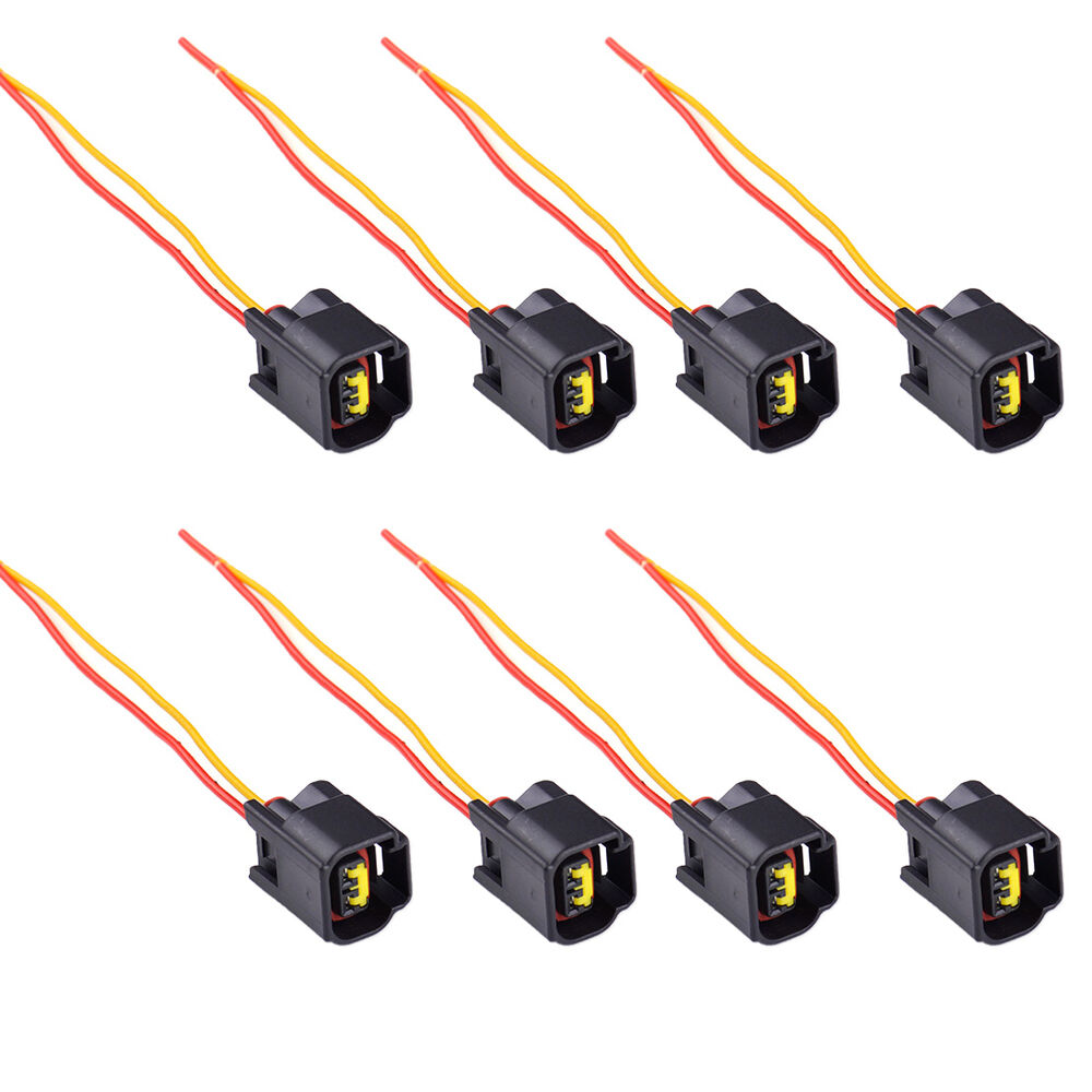 8pcs ignition coil connector modular set for 1991 2011