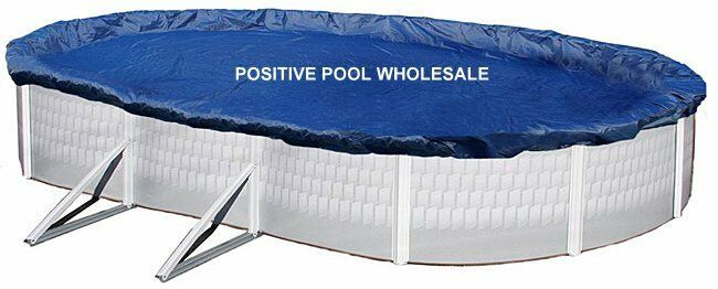 18 39 X34 39 Oval Swimming Above Ground Pool Winter Cover 10 Year Warranty Ebay