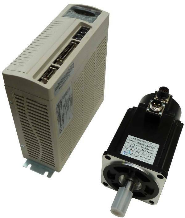 750 watt teco ac brushless servo motor and drive power for Servo motors and drives