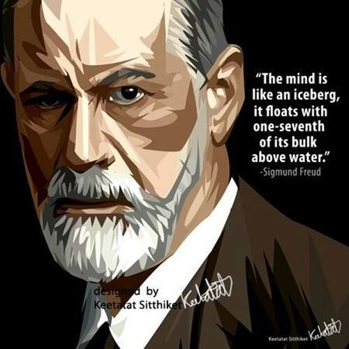 Wall Decals Pop Art : Sigmund freud canvas quotes wall decals photo painting