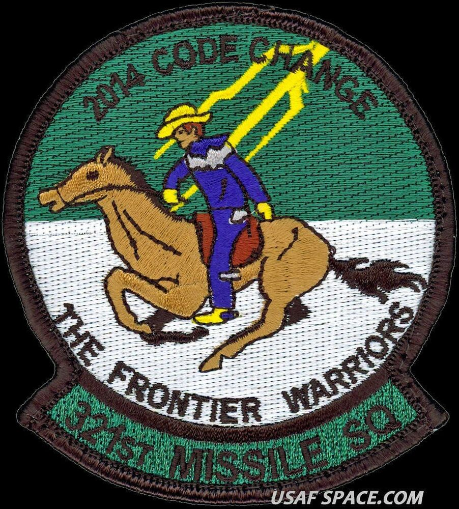 321st missile security squadron patches