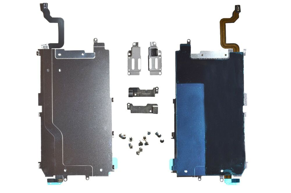 "iPhone 6 4.7"" Main Metal Shield LCD Screen Plate Part + Flex Cable ..."