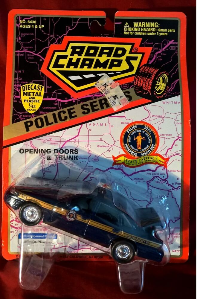1997 road champs police series annapolis maryland state capitol police car 1 43 ebay. Black Bedroom Furniture Sets. Home Design Ideas