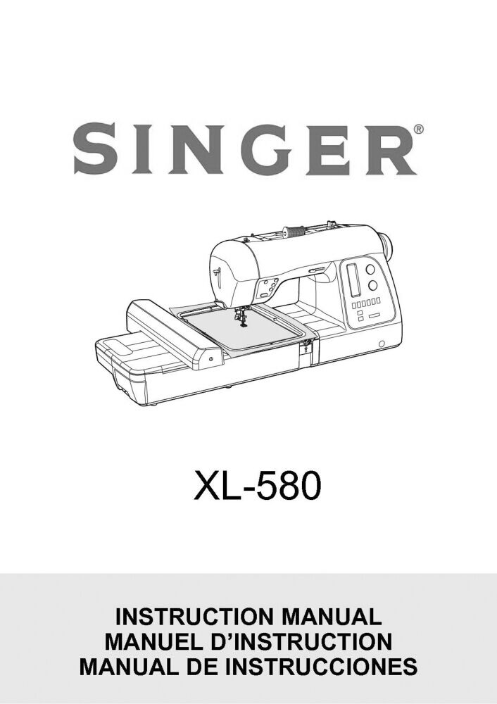 Singer Sewing Machine Manuals