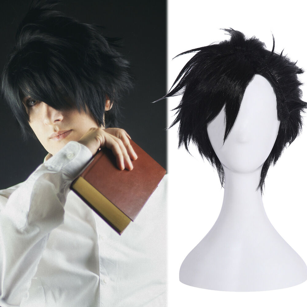 Haikyuu Kuroo Tetsurou Short Black Hair Mens Cosplay Wig ...