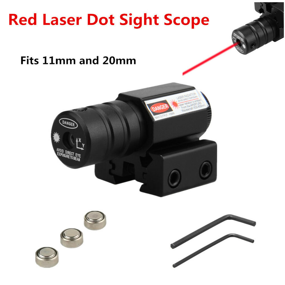 Mount Laser For Taurus Revolvers: Compact RED DOT LASER SIGHT 11mm/20mm Mount For Airgun
