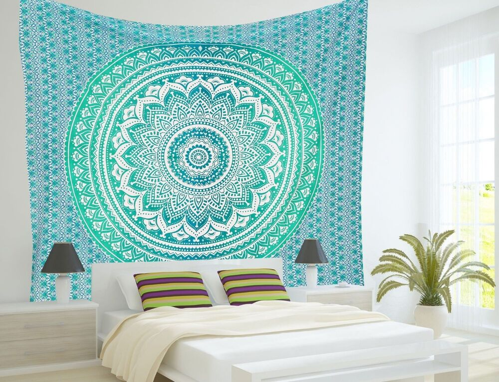 Indian Mandala Tapestry Hippie Wall Hanging Twin Size ...