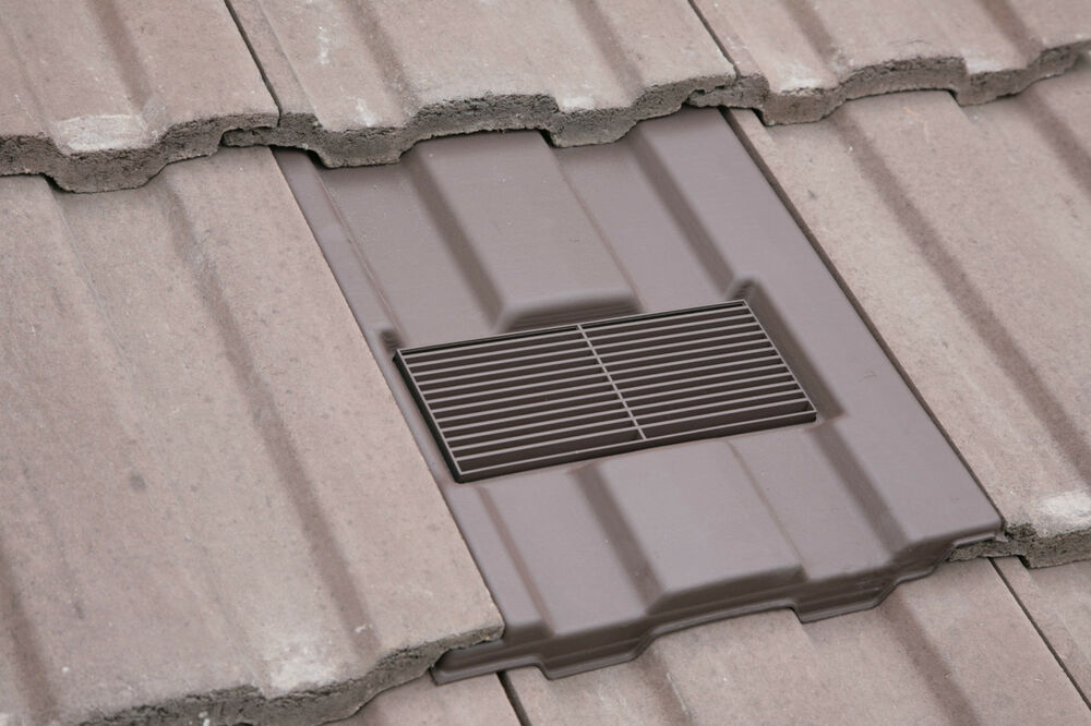 Roof Tile Vent To Fit Redland Renown Flexi Pipe