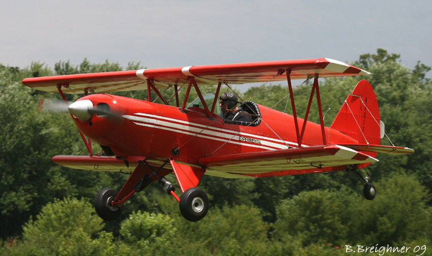 Eaa Biplane 40 Inch Wing Span Sport Scale Rc Airplane