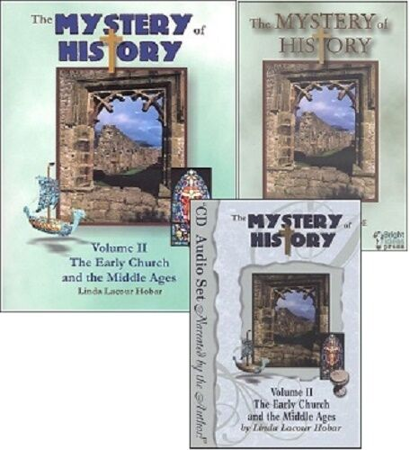 Mystery Of History 2: Mystery Of History 2: SET (Book, Audio CDs & Companion CD