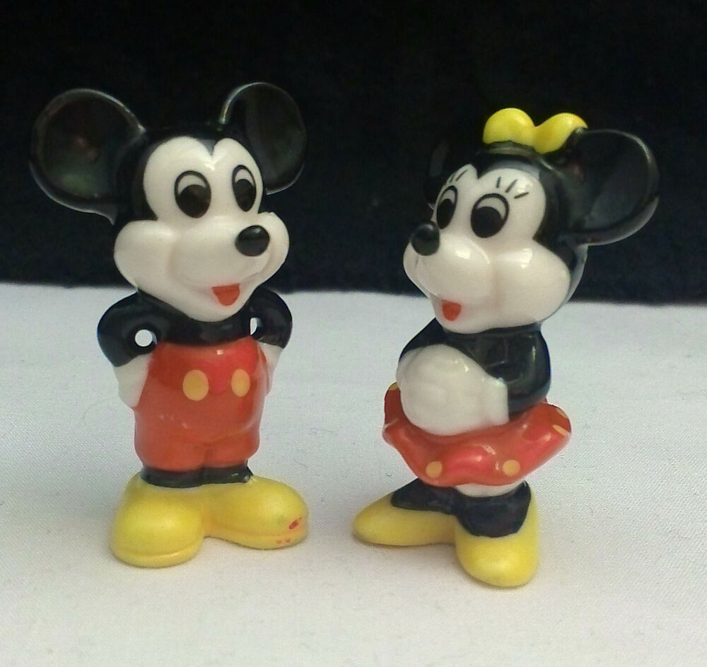 Walt Disney Classics Collection Mickey Mouse and Train ...  |Mickey Mouse Birthday Figurines