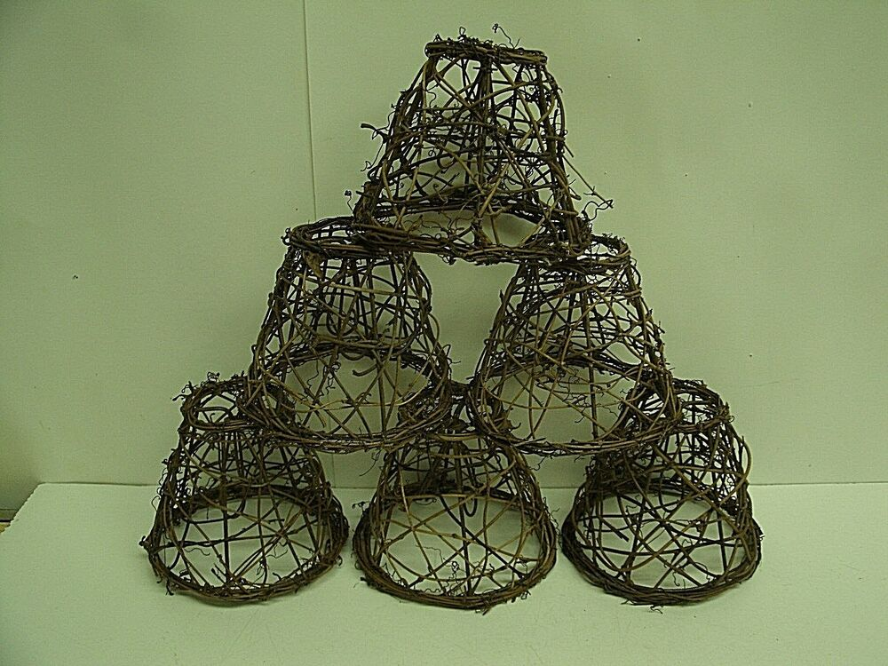 6 Clip On Chandelier Lamp Shade 2 5 Quot X5 Quot X4 Grapevine