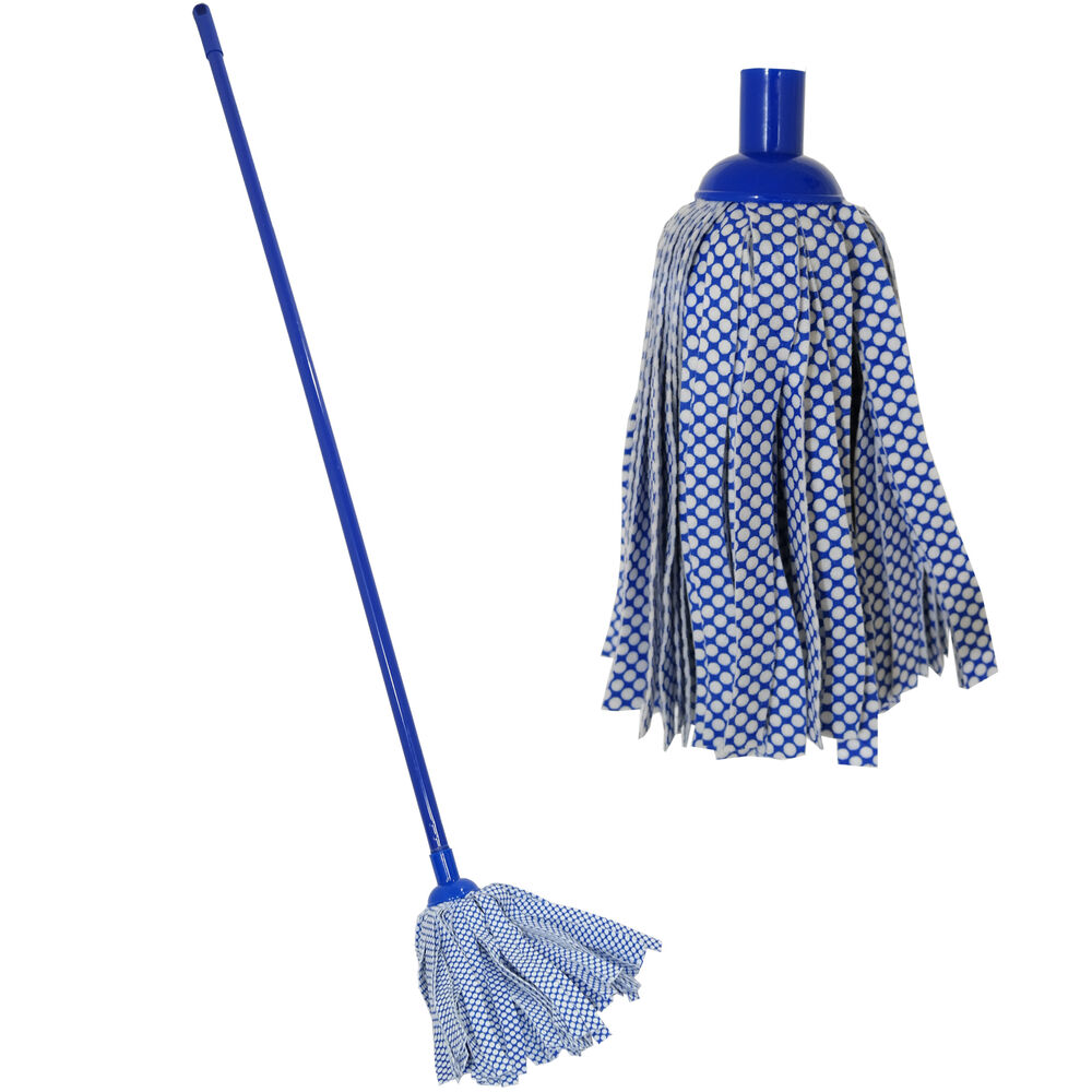 1 2m Long Handle Floor Cloth Mop Sweeper Cleaning Wood