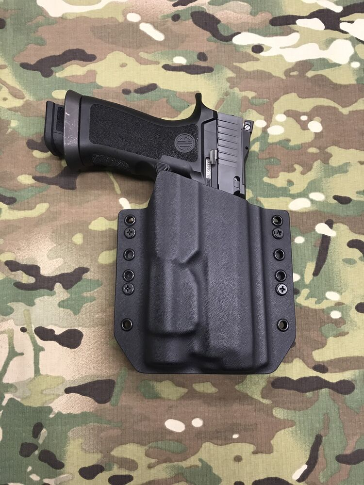 Black Kydex Light Bearing Holster SIG P250 Full Size ...